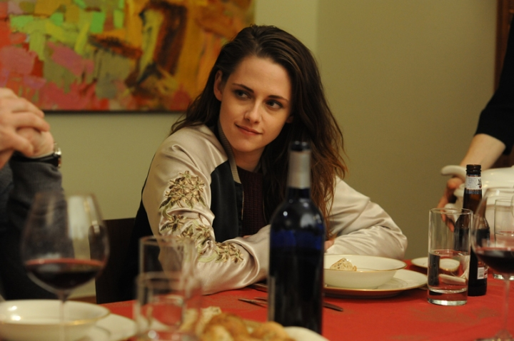 Kristen Stewart as Lydia Howland, teaches her spiritually bankrupt family about faith-based living.